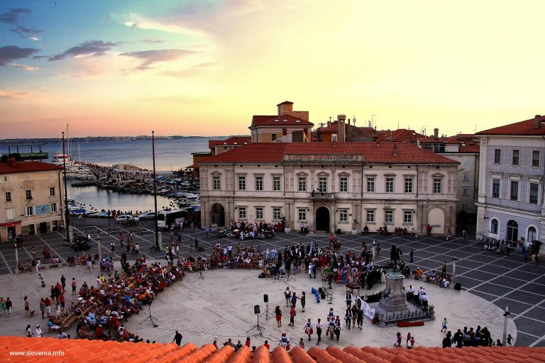 Event on Tartini Square, Piran, NENE2019